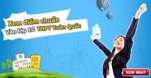 Điểm chuẩn vào lớp 10 THPT chuyên Hà Nội năm 2016 đợt 2