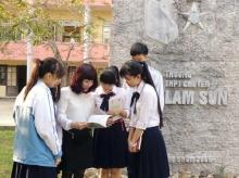 Điểm chuẩn vào lớp 10 THPT Chuyên Lam Sơn Thanh Hóa 2015 - 2016