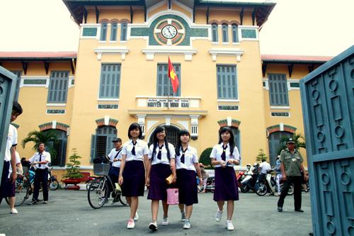 Trường có kiến trúc và chất lượng cao