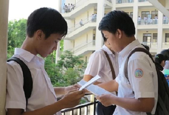 Điểm chuẩn vào lớp 10 THPT Khánh Hòa 2014