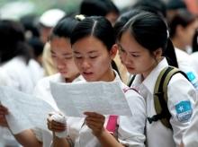 Đề thi và đáp án thi vào lớp 10 môn Toán tỉnh Lâm Đồng năm 2014