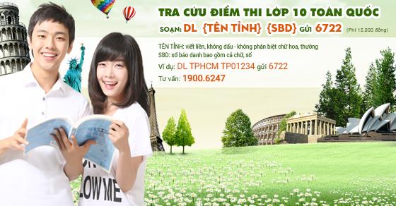 Xem điểm thi vào lớp 10 Quảng Nam năm 2016 sớm nhất