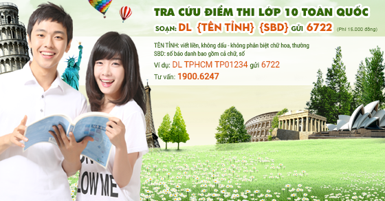 Xem điểm thi vào lớp 10 tỉnh Tây Ninh năm 2016 sớm nhất