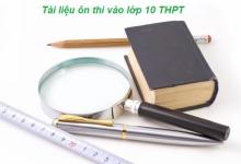 Lựa chọn tài liệu ôn thi vào lớp 10 THPT năm 2016 hiệu quả