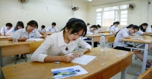 Môn thi thứ 3 vào lớp 10 THPT tỉnh Thanh Hóa năm 2017