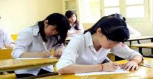 Môn thi thứ 3 vào lớp 10 tỉnh Thái Bình năm 2017 (Đã có công bố)