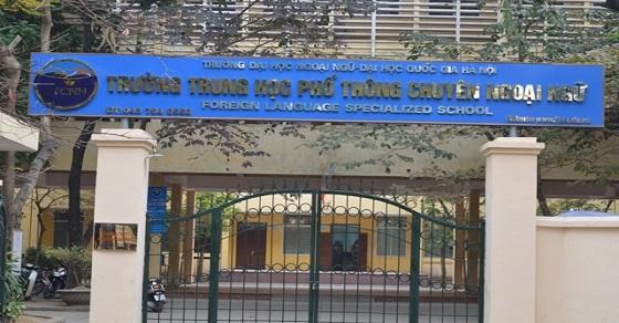 Hình thức thi vào trường THPT chuyên ngoại ngữ, ĐH Quốc gia Hà Nội