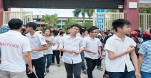Đáp án đề thi vào lớp 10 môn Địa chuyên Hà Nội năm 2017