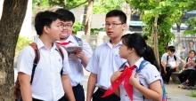 Đáp án đề thi vào lớp 10 môn Toán chuyên tỉnh Bình Định 2017