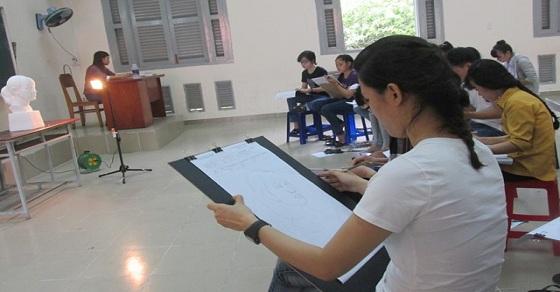 Khối V và khối H thi những môn gì?