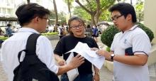Đáp án đề thi vào lớp 10 môn Toán tỉnh Bến Tre năm 2017