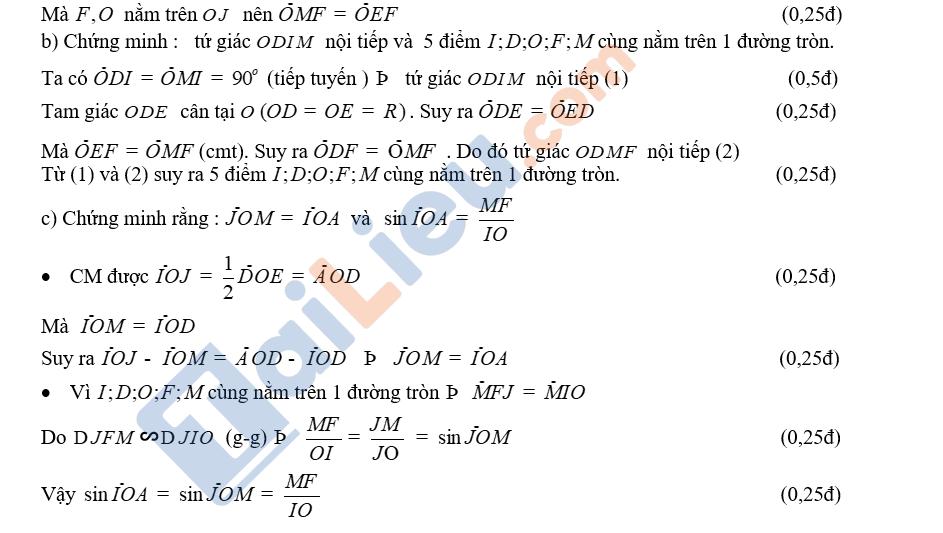 Đáp án đề toán thi vào 10 TPHCM 2020 của sở GDĐT_4