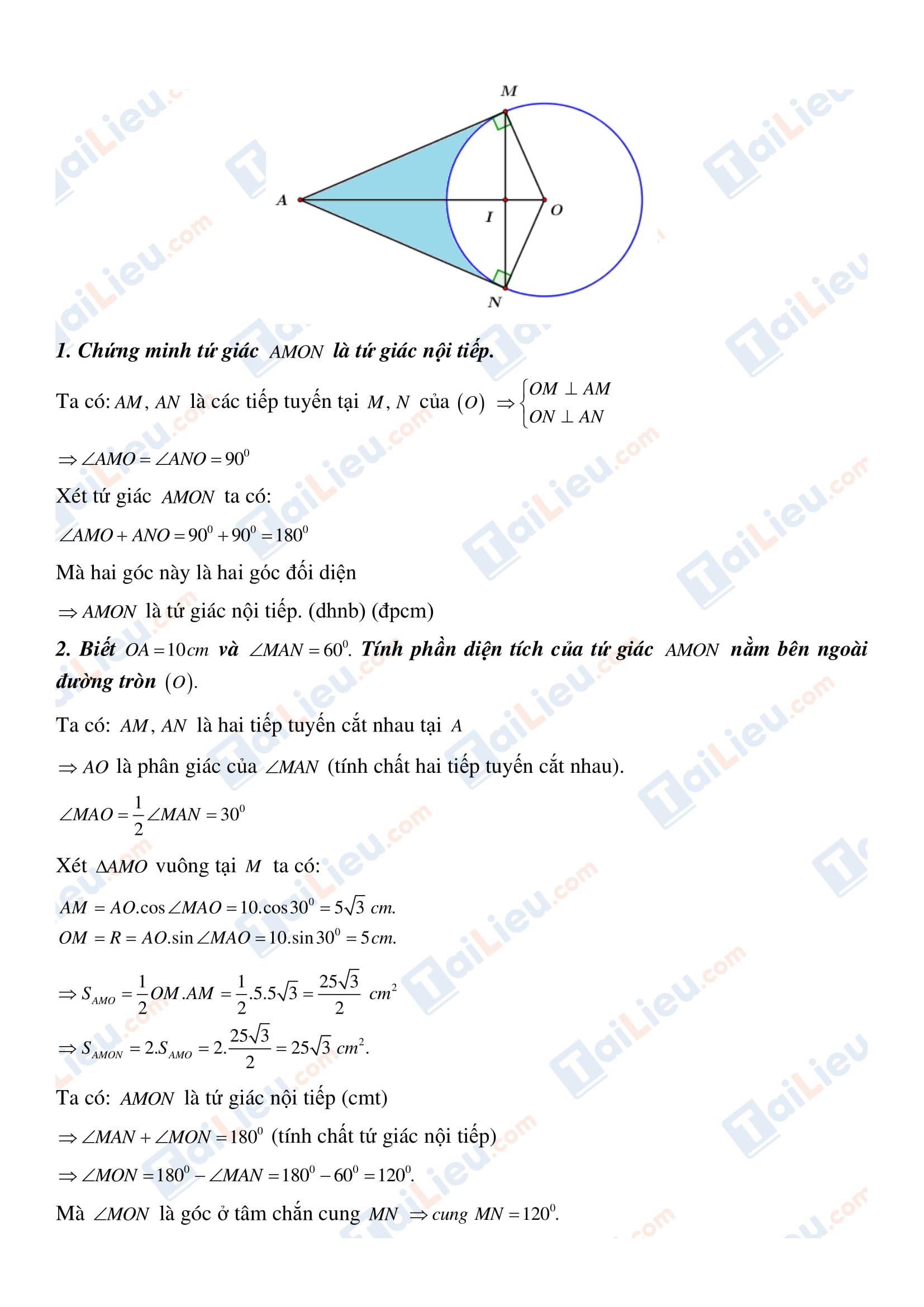 Đáp án đề tuyển sinh lớp 10 môn toán 2020 Đồng Tháp_2