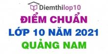 Điểm thi tuyển sinh lớp 10 năm 2021 Quảng Nam chính thức mới nhất