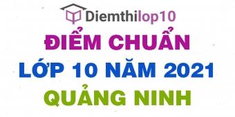 Điểm chuẩn lớp 10 năm 2021 Quảng Ninh công bố chính thức