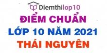 Điểm chuẩn lớp 10 năm 2021 Thái Nguyên công bố chính thức