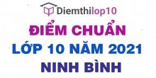 Điểm chuẩn lớp 10 năm 2021 Ninh Bình công bố chính thức