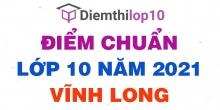 Điểm chuẩn lớp 10 năm 2021 Vĩnh Long công bố chính thức
