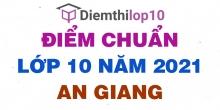 Điểm thi tuyển sinh lớp 10 năm 2021 An Giang chính thức mới nhất