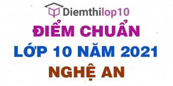Điểm thi tuyển sinh lớp 10 năm 2021 Nghệ An chính thức mới nhất