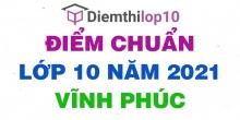 Điểm thi tuyển sinh lớp 10 năm 2021 Vĩnh Phúc chính thức mới nhất