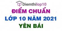 Điểm thi tuyển sinh lớp 10 năm 2021 Yên Bái chính thức mới nhất