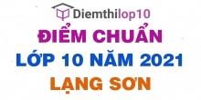 Điểm thi tuyển sinh lớp 10 năm 2021 Lạng Sơn chính thức mới nhất