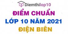 Điểm chuẩn lớp 10 năm 2021 Điện Biên công bố chính thức